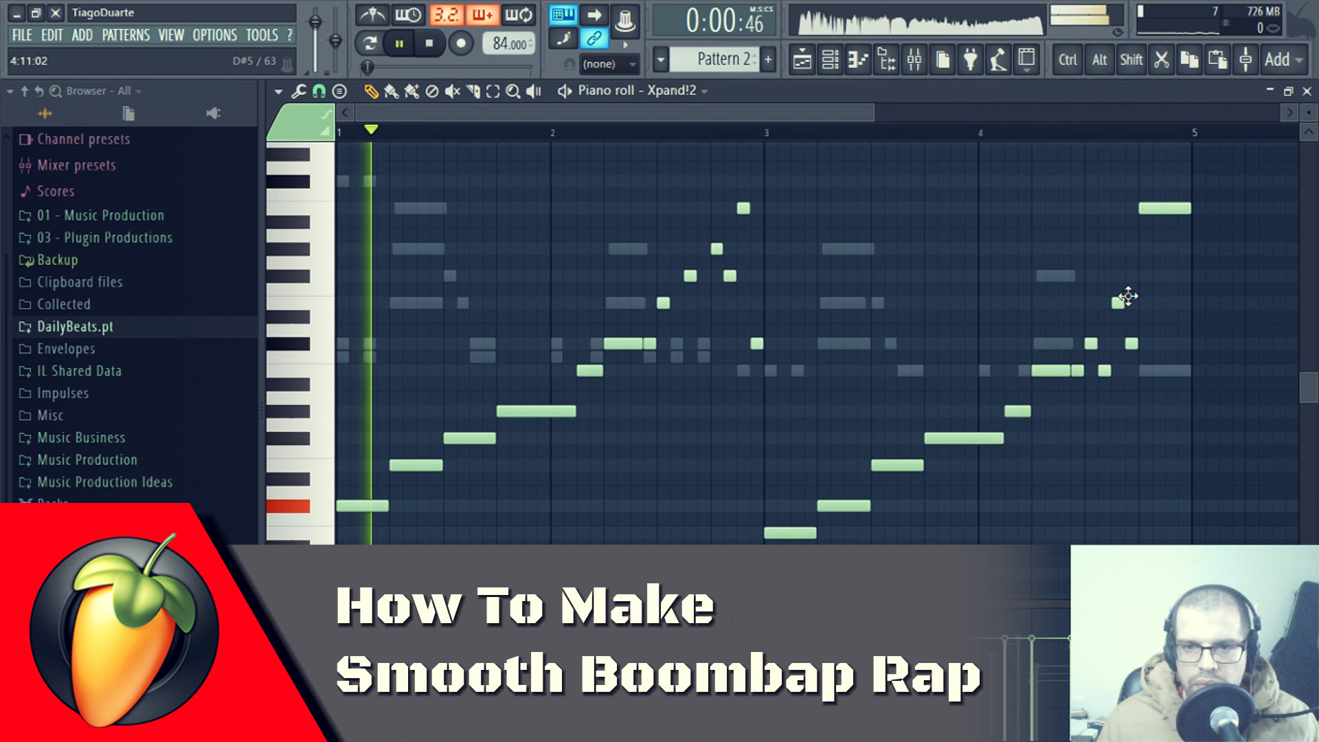 How To Make Smooth Boombap Rap