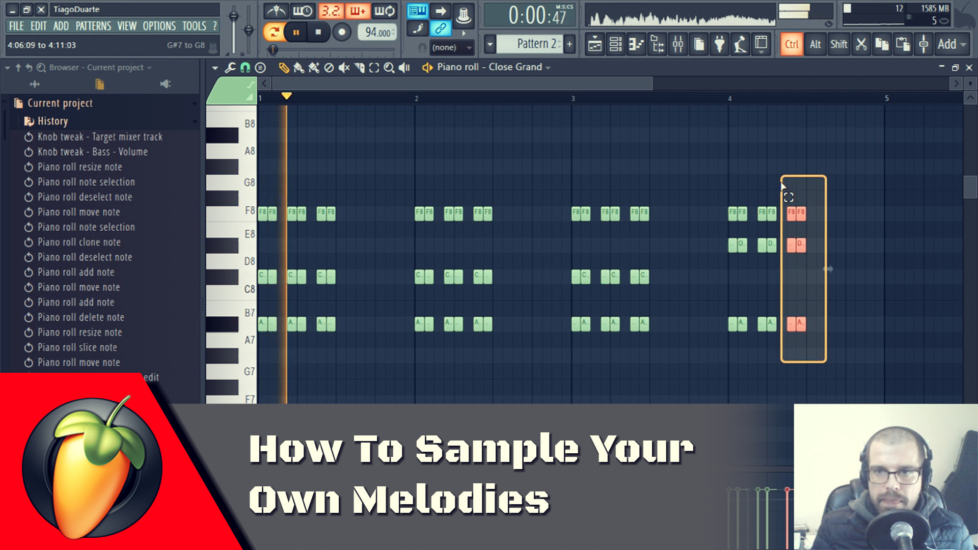 How To Sample Your Own Melodies