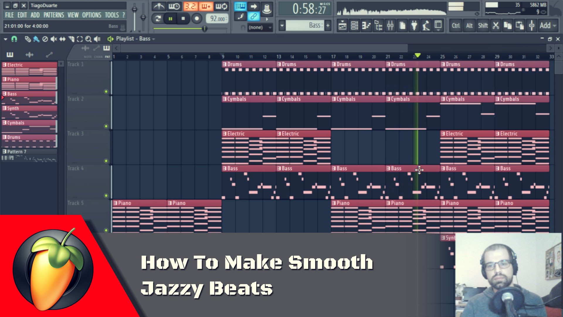 How To Make Smooth Jazzy Beats