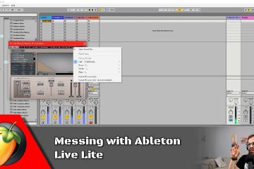 Messing with Ableton Live Lite